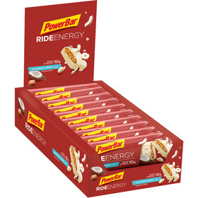 PowerBar RideEnergy Bar Box 18 x 55g Kokos-Haselnuss Karamell